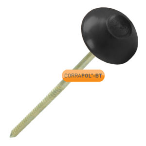 Corrapol-BT Corrapol-BT Black Corrugated Bitumen Fixings 100 Pk