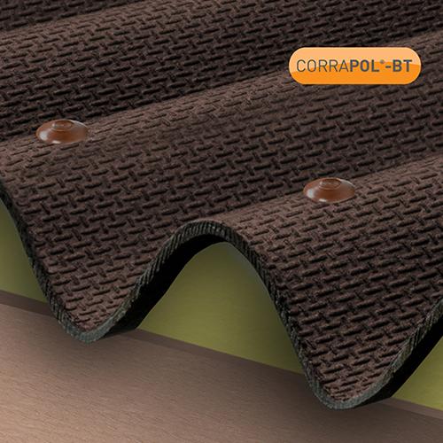 Corrapol-BT Corrapol-BT Brown Corrugated Bitumen Fixings 100Pk Image 2