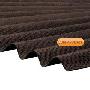 Corrapol-BT Corrapol-BT Brown Corrugated Bitumen Sheet 930 X 2000mm