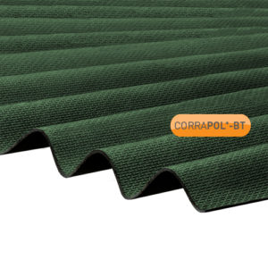 Corrapol-BT Corrapol-BT Green Corrugated Bitumen Sheet 930 X 2000mm
