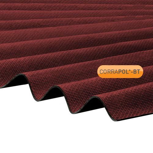Corrapol-BT Corrapol-BT Red Corrugated Bitumen Sheet 930 X 2000mm