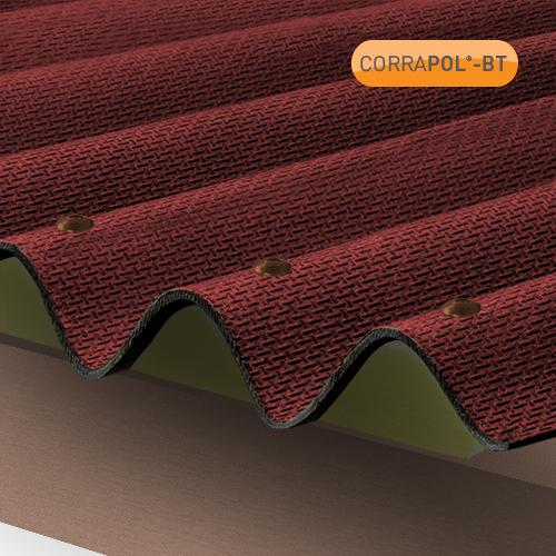 Corrapol-BT Corrapol-BT Red Corrugated Bitumen Sheet 930 X 2000mm Image 2