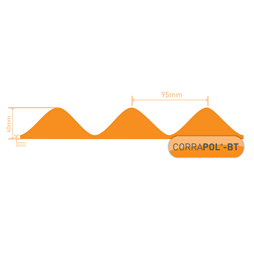 Corrapol-BT Corrapol-BT Corrugated Bitumen Foam Eaves Filler (4Pk) Image 3