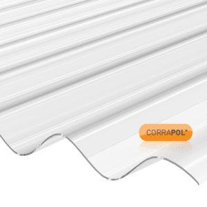 Corrapol Corrapol Clear Polycarb Corrugated Sheet 840 X 2440