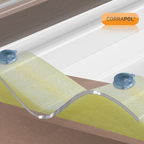 Corrapol Corrapol Clear 50mm Fixings (Pack Of 10) Image 2