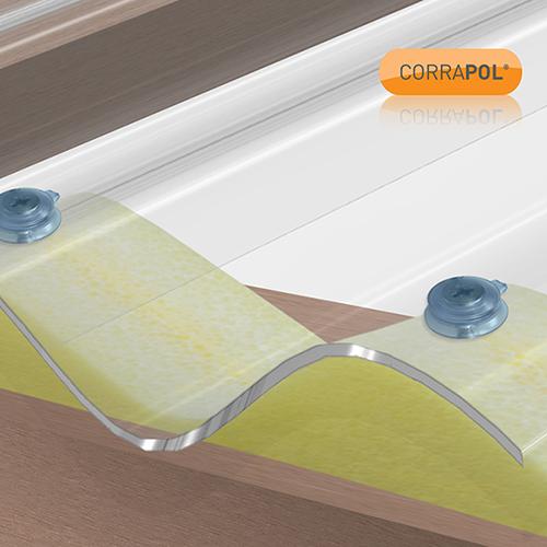 Corrapol Corrapol Foam Eaves Filler High Profile 900mm ea Image 2