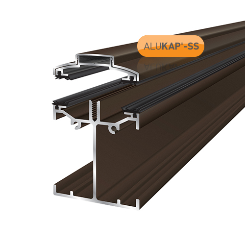 Alukap-SS Low Profile Bar 2.4m Brown