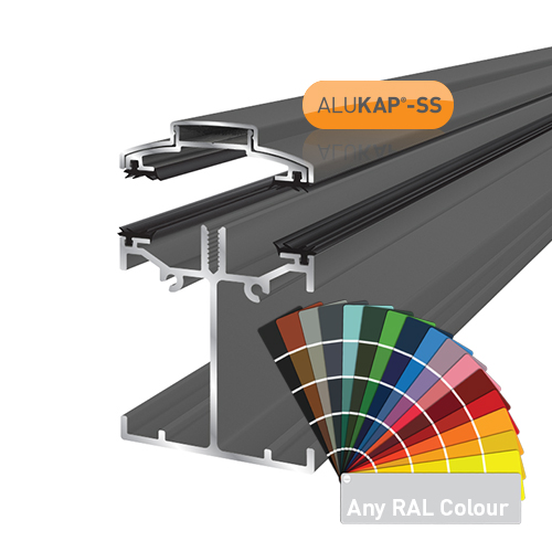 Alukap-SS Low Profile Bar 2.4m PC