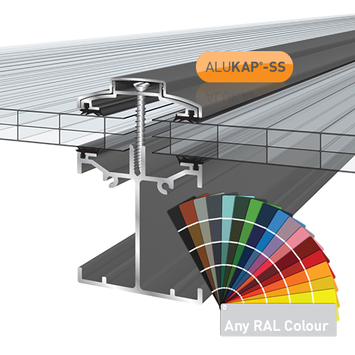 Alukap-SS Low Profile Bar 2.4m PC Image 2