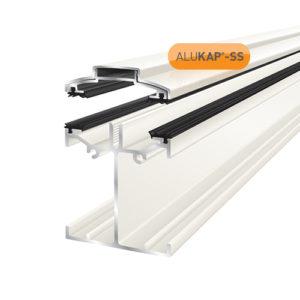 Alukap-SS Low Profile Bar 6.0m White
