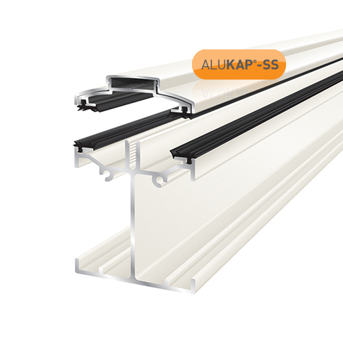 Alukap-SS Low Profile Bar 6.0m White