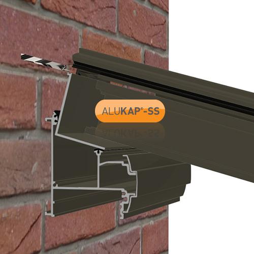 Alukap-SS Low Profile Cap 4.8m Brown Image 2