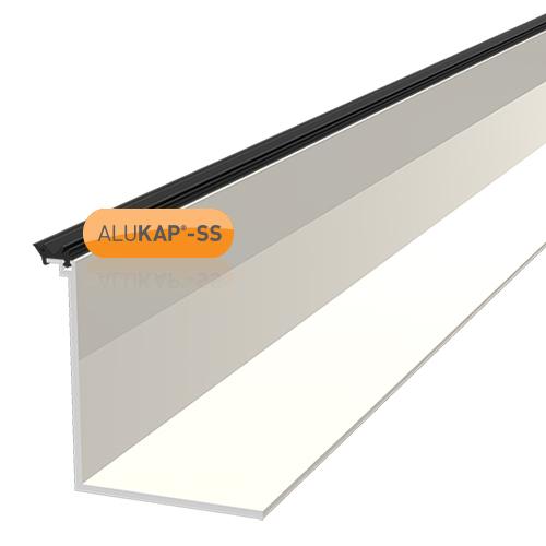 Alukap-SS Low Profile Cap 4.8m White