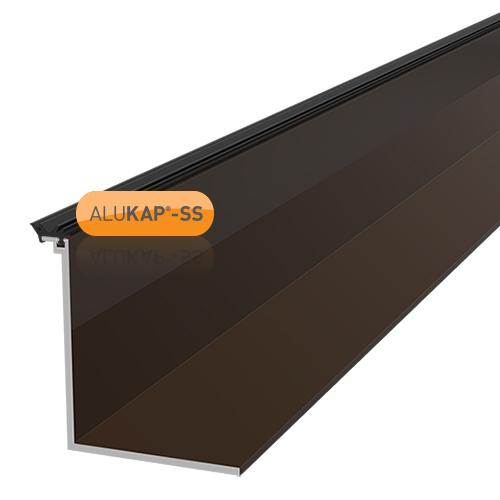 Alukap-SS Low Profile Cap 6.0m Brown