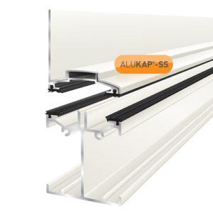 Alukap-SS Low Profile Wall Bar 3.0m White