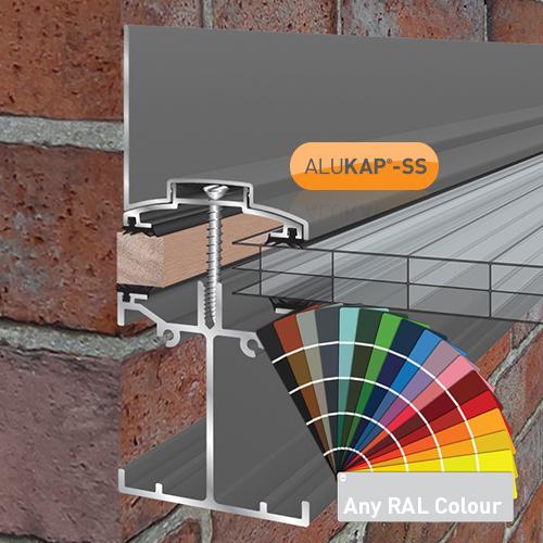 Alukap-SS Low Profile Wall Bar 6.0m PC Image 2