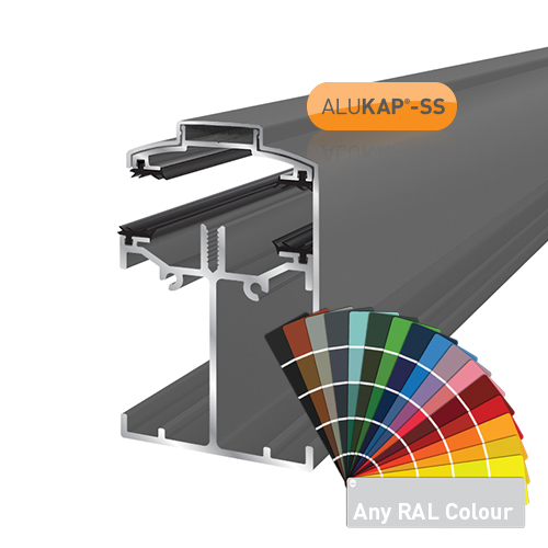 Alukap-SS Low Profile Gable Bar 3.0m PC