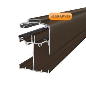 Alukap-SS Low Profile Gable Bar 4.8m Brown