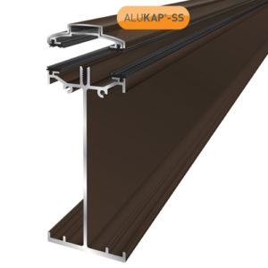 Alukap-SS High Span Bar 3.0m Brown
