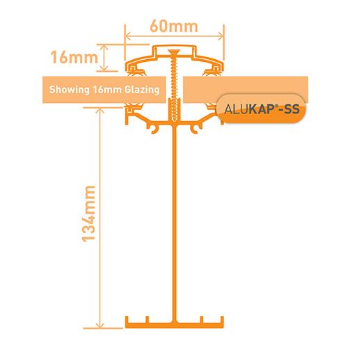 Alukap-SS High Span Bar 3.0m PC Image 3