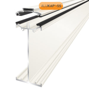Alukap-SS High Span Bar 4.8m White