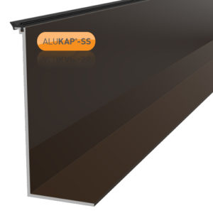 Alukap-SS High Span Cap 4.8m Brown