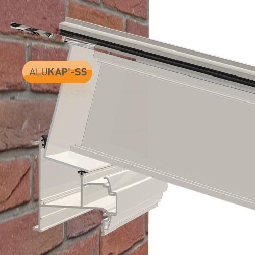 Alukap-SS High Span Cap 6.0m White Image 2