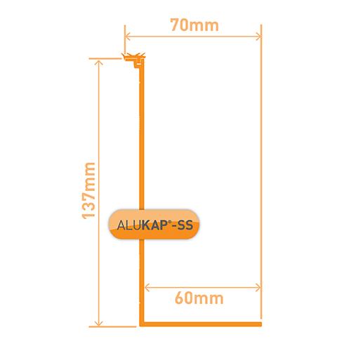 Alukap-SS High Span Cap 6.0m White Image 3