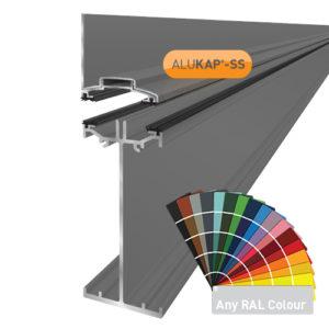Alukap-SS High Span Wall Bar 4.8m PC