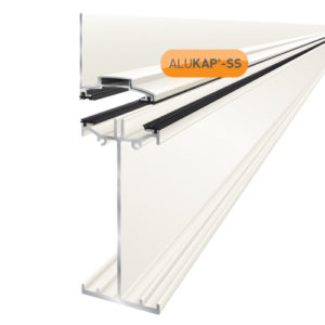 Alukap-SS High Span Wall Bar 4.8m White
