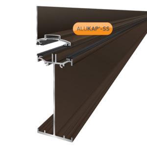 Alukap-SS High Span Wall Bar 6.0m Brown