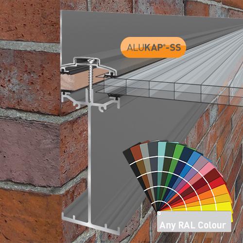 Alukap-SS High Span Wall Bar 6.0m PC Image 2