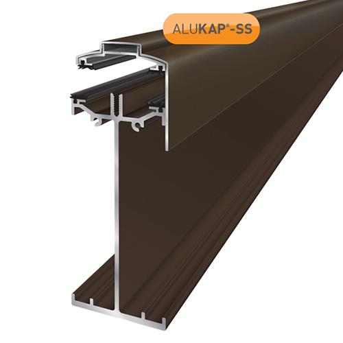 Alukap-SS High Span Gable Bar 4.8m Brown