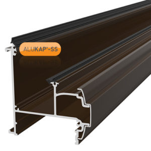 Alukap-SS Wall & Eaves Beam 4.8m Brown