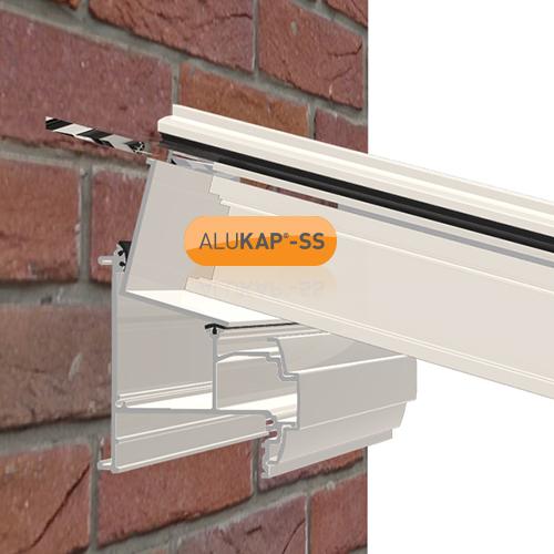 Alukap-SS Wall & Eaves Beam 4.8m White Image 2