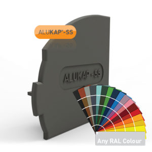 Alukap-SS Wall & Eaves Beam Endcap LH PC