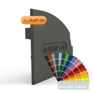 Alukap-SS Wall & Eaves Beam Endcap RH PC