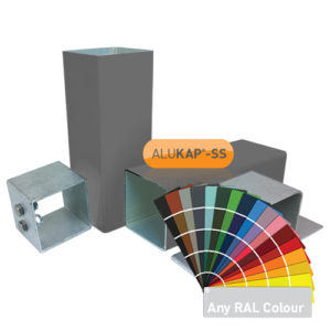 Alukap-SS: Complete Post & Bracket Kits