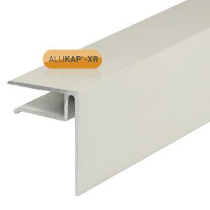 Alukap-XR 10mm End Stop Bar 3m White