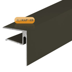 Alukap-XR 16mmEnd Stop Bar 3.6m Brown