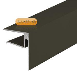 Alukap-XR 16mmEnd Stop Bar 4.8m Brown