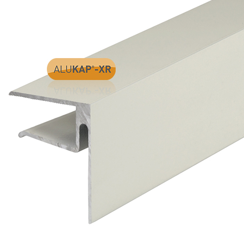 Alukap-XR 16mmEnd Stop Bar 4.8m White