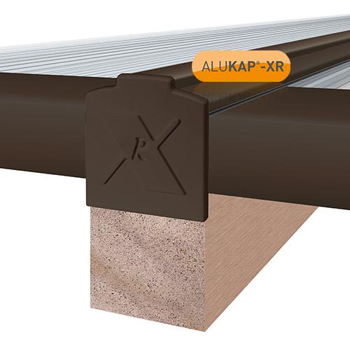 Alukap-XR 25mm End Stop Bar 3.6m Brown Image 2
