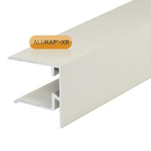 Alukap-XR 25mm End Stop Bar 3.6m White