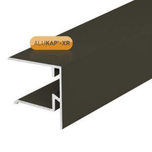Alukap-XR 25mm End Stop Bar 4.8m Brown