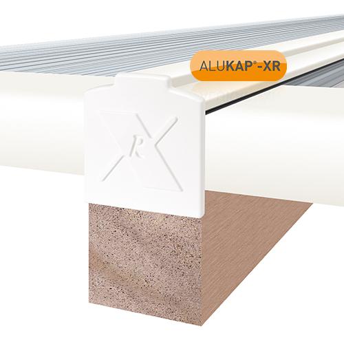 Alukap-XR 28mm End Stop Bar 4.8m White Image 2