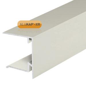 Alukap-XR 35mm End Stop Bar 3m White
