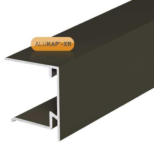 Alukap-XR 35mm End Stop Bar 4.8m Brown