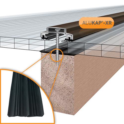 Alukap-XR 45mm Bar 3.0m 45mm RG BR Alu E/Cap Image 2