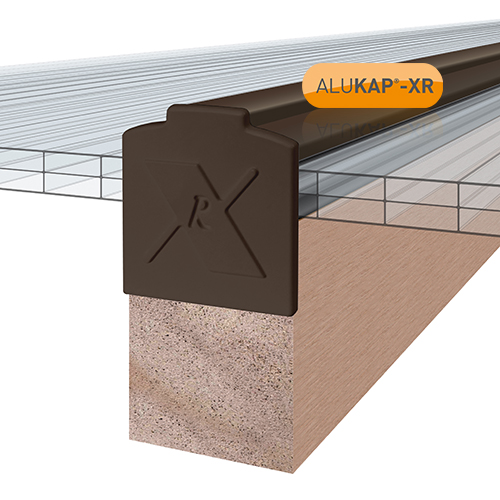 Alukap-XR Additional Bar Endcap Each BR Image 2
